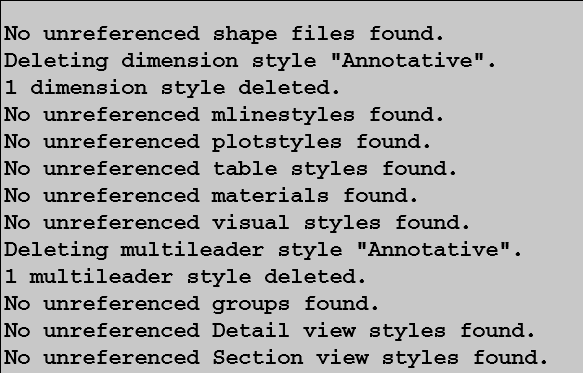 Automate -PURGE options with Autodesk Script | Ideate Inc