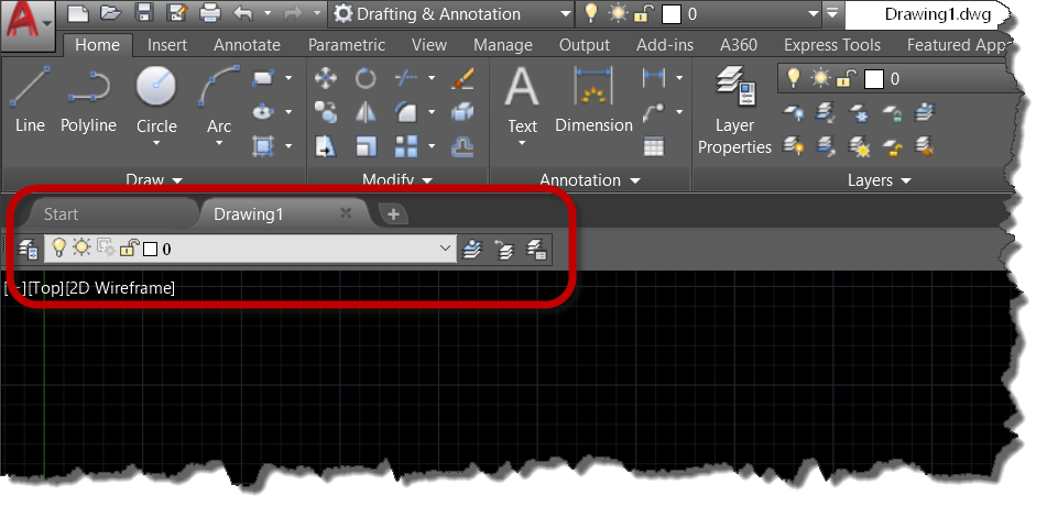 AutoCAD: Add a Layers Toolbar to Your Workspace | Ideate Inc