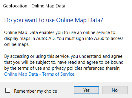 AutoCAD: Maps Cannot Be Displayed | AutoCAD | Autodesk
