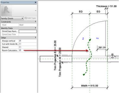 New Room Calculation Point Functionality in Revit 2014