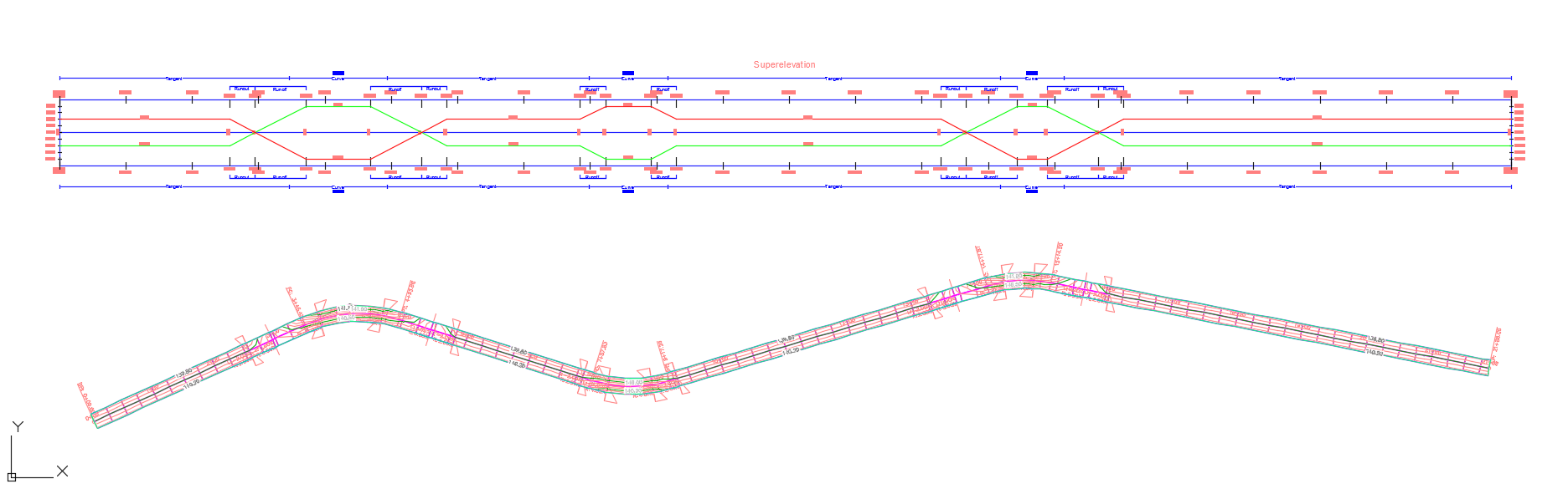 How to Superelevate a Planar Roadway in Civil 3D 2016 | Search