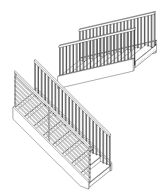 Revit: Steps for Adding a Stair Landing | Search | Autodesk