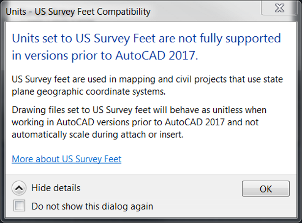Finally Here: US Survey Feet in AutoCAD | Ideate Inc