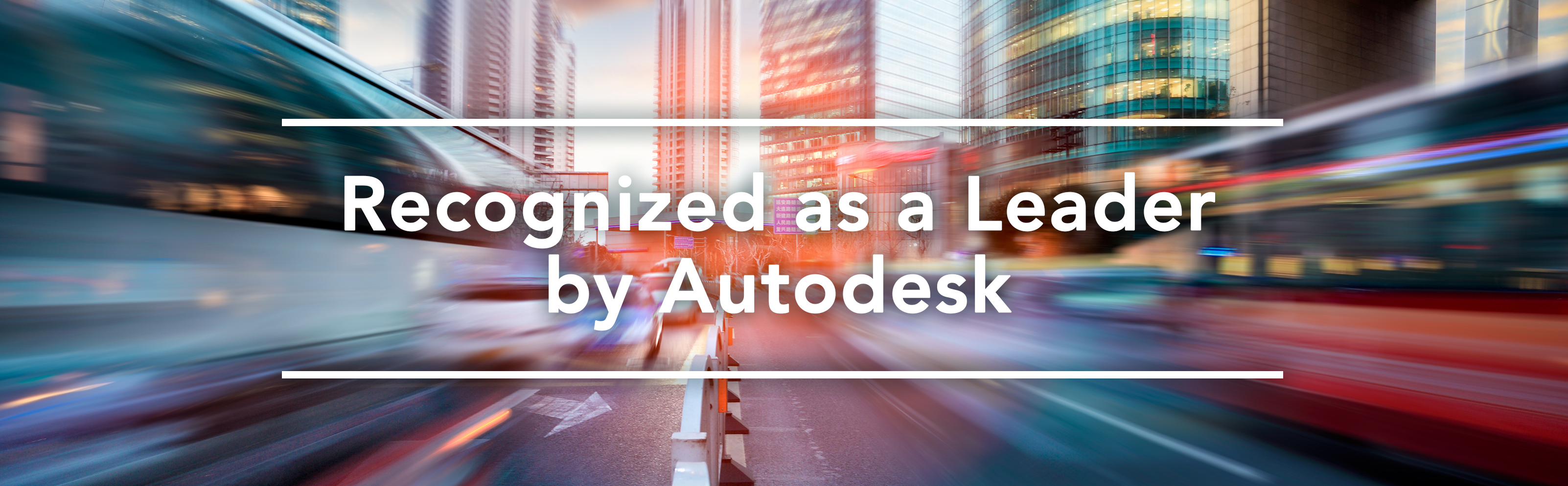 Recognized as a Leader by Autodesk